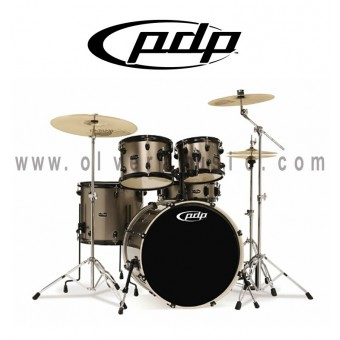 PDP Mainstage Series 5-Piece All Hardwood Drum Set - Bronze Metallic