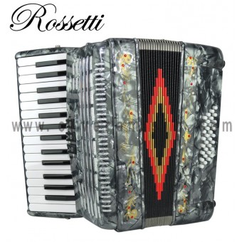 ROSSETTI Piano Accordion - Gray