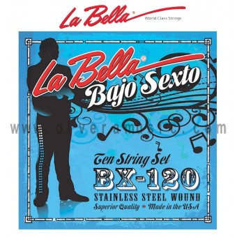 LA BELLA Bajo Sexto Strings