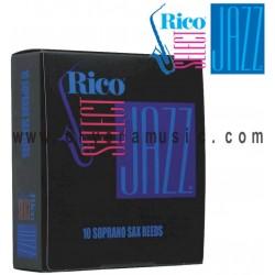 RICO SELECT Jazz Cañas para Saxofon Soprano
