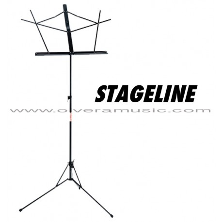 Stageline (MS1050BK) Atril Para Partitura