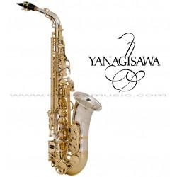 "YANAGISAWA ""Serie WO"" Saxofón Alto Profesional - Plata"