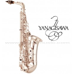 "YANAGISAWA ""Serie WO"" Saxofón Alto Profesional - Plateado"
