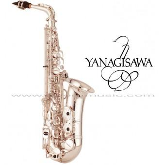 "YANAGISAWA ""WO Series"" Professional Eb Alto Saxophone - Silver Plate"