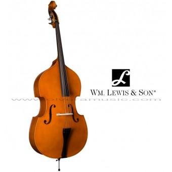 "William Lewis & Son (WLB49L1CFH) ""Exeter"" Contrabajo Doble Modelo Estudiante Medida 1/4"