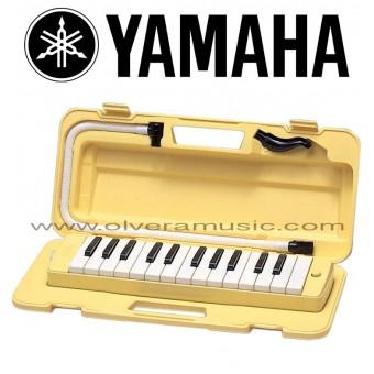 Yamaha (P25F) Pianica de 25-Teclas - Color Amarillo
