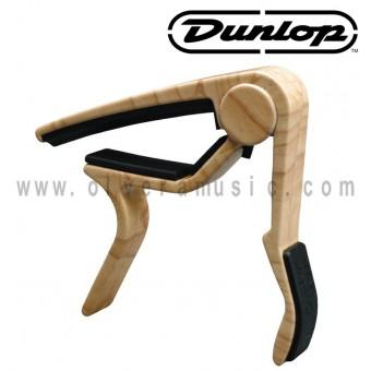 Dunlop (83CM) Capo De Gatillo Curvo Guitarra Acustica Color Maple