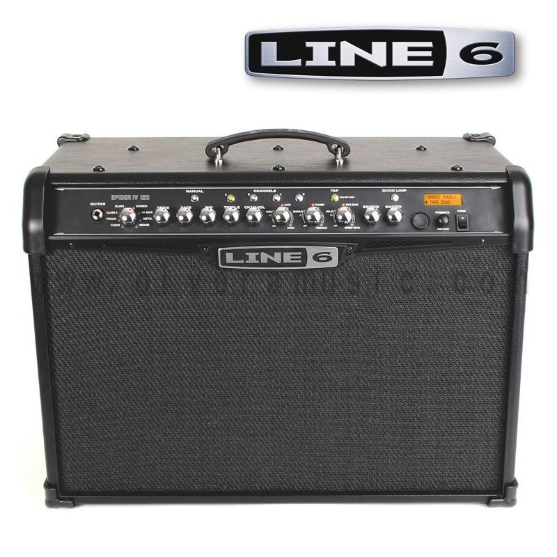 line 6 spider iv 120 120w 2x10 modeling combo guitar. Black Bedroom Furniture Sets. Home Design Ideas