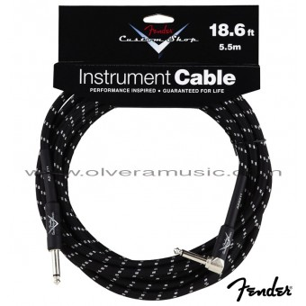 FENDER Performance Series Custom Shop Instrument Cable 18.6ft.