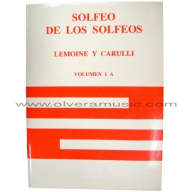 Solfeo de los Solfeos Method By Lemoine & Carulli (Vol.1 A)