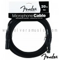 FENDER Microphone Cable 20ft. (6m)
