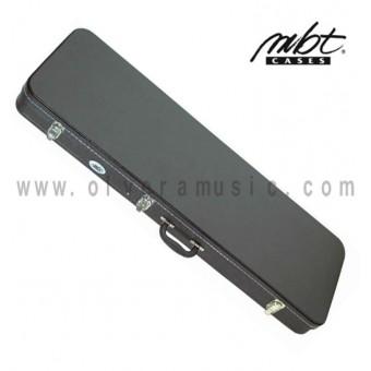 MBT (MBTEGCW1) Estuche de Madera para Guitarra Electrica