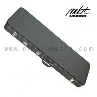 MBT (MBTEGCW1) Hardshell Wooden Case for Electric Guitar