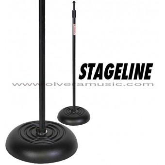 Stageline (MS603B) Base Redonda c/Peso Para Micrófono