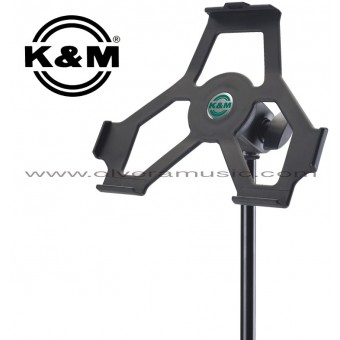K&M (19710-500-55) iPad Holder w/Mic Stand Mount