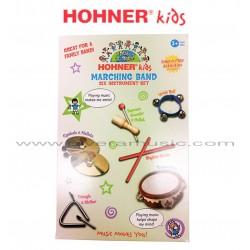 HOHNER KIDS Instrumentos de Marcha Para Niños - 6 Piezas