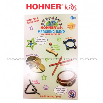 HOHNER KIDS Marching Band Six Instrument Set