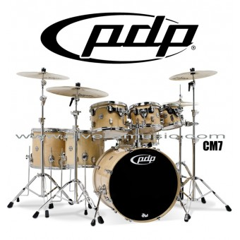 "PDP ""Concept Maple Series"" 7-Piece Drum Set  - Natural Lacquer"