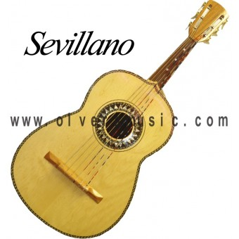 SEVILLANO Traditional Mariachi Deep-Bodied Guitarron
