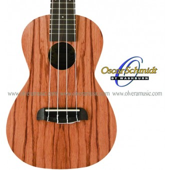 OSCAR SCHMIDT by Washburn Exotic Wood Ukulele - Concert