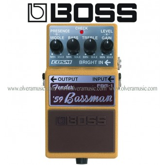 BOSS '59 Bassman - Legend Series Guitar Effects Pedal