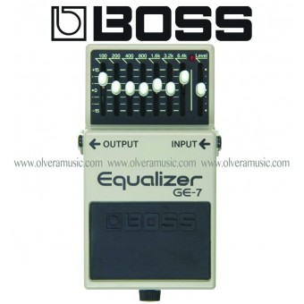 BOSS 7-Band Graphic Equalizer Guitar Effects Pedal