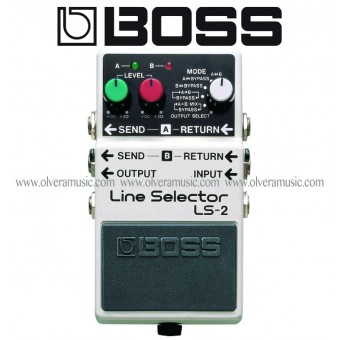 BOSS Line Selector/Power Supply Guitar Effects Pedal
