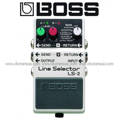 boss line selector power supply guitar effects pedal olvera music. Black Bedroom Furniture Sets. Home Design Ideas