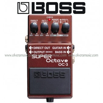 BOSS Super Octave Guitar Effects Pedal