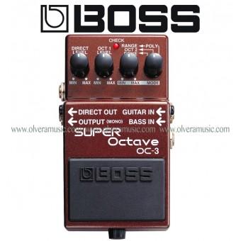 BOSS Super Octave Guitar Effects Pedal
