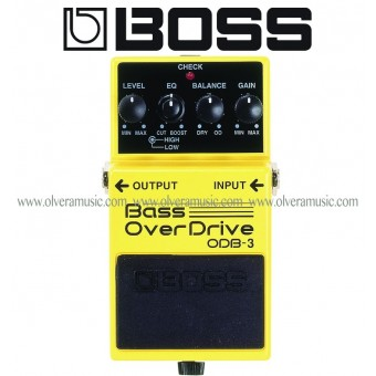 BOSS Bass OverDrive Bass Effects Pedal