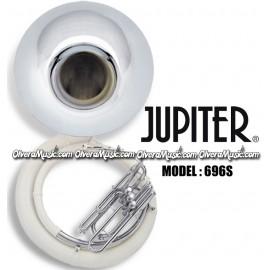 JUPITER Tuba de Fibra Campana de Metal Plateada Combinada - Sibemol