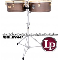"LP Salsa Timbales 14""&15"" Karl Perazzo Signature Series - Antique Bronze"