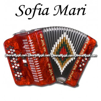 SOFIA MARI Button Accordion