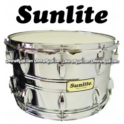 SUNLITE Snare 14X8 Chrome Finish 10-Lug