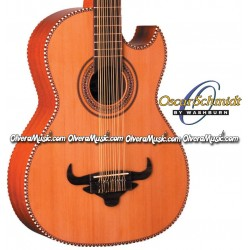 OSCAR SCHMIDT by Washburn Traditional Bajo Sexto - Natural
