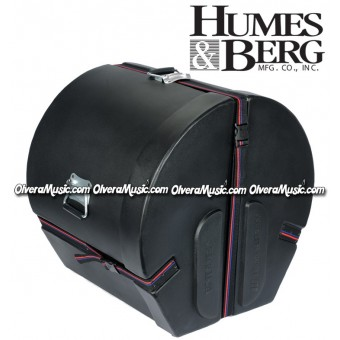 "HUMES & BERG Enduro Bass Drum Case 20""x24"""