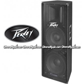 "PEAVEY Two-Way Dual 15"" Powered Loudspeaker"