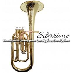 SILVERTONE Eb Alto Horn - Lacquer Finish w/Engraving