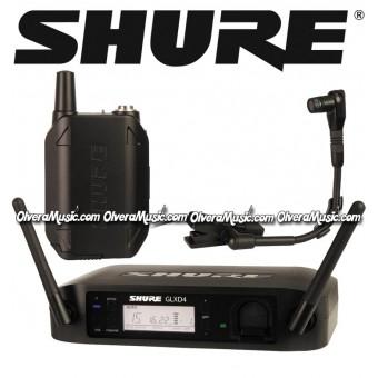 SHURE Digital Wireless System - Instrument Microphone