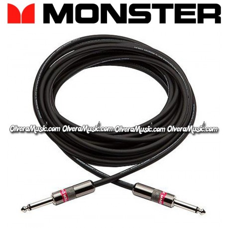 MONSTER Classic Pro Audio Instrument Cable - 21ft. - Olvera Music