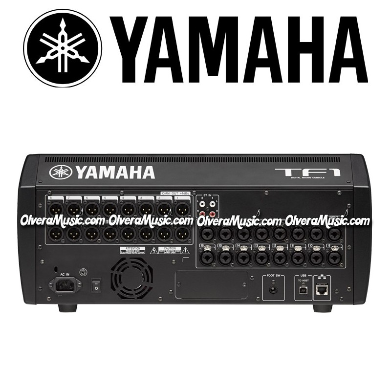 yamaha 16 channel portable digital mixer olvera music. Black Bedroom Furniture Sets. Home Design Ideas