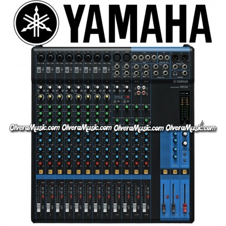 Yamaha 16 channel mixer olvera music for Yamaha mixer replacement parts