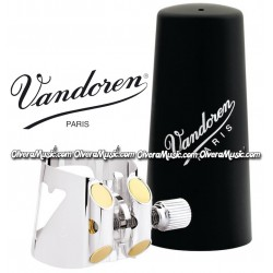 VANDOREN Optimum Bb Clarinet Ligature & Plastic Cap