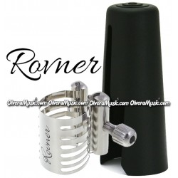 ROVNER Platinum Abrazadera y Tapa Boquilla Para Clarinete