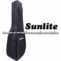 SUNLITE Semi-Hard Bajo Quinto Case - Black