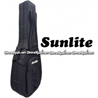 SUNLITE Semi-Hard Bajo Quinto Case - Black