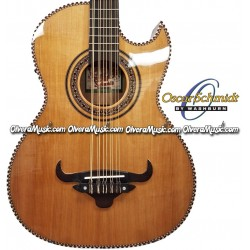 OSCAR SCHMIDT Thin Line Acoustic Electric Bajo Quinto