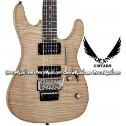 DEAN GUITARS Custom 350 w/Floyd Rose Tremolo Electric Guitar - Natural Gloss