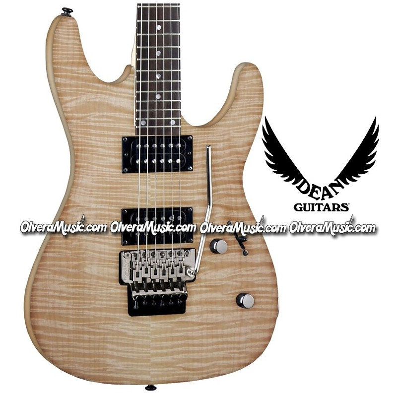 Dean guitars guitarra electrica floyd rose tr molo custom for Luthier guitarra electrica